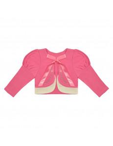 """Болеро розовое с длинным рукавом """"принцесса"""""""